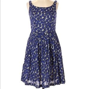Boden Fit and Flare Dress - Size 8